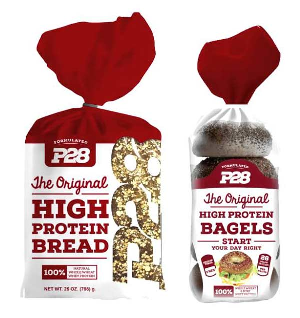P 28 High protein breads